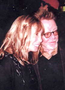 Judy with Paul Williams